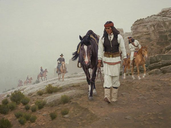 Trackers By David Nordahl Native American Artists Native
