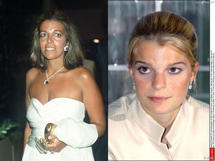 Christina Onassis and her daughter Athina (Onassis) Roussel de Miranda.