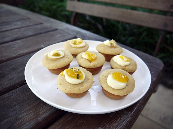 White Chocolate and Passionfruit Cupcakes - Best Chef Recipes | A Perfect Pantry - Kambrook