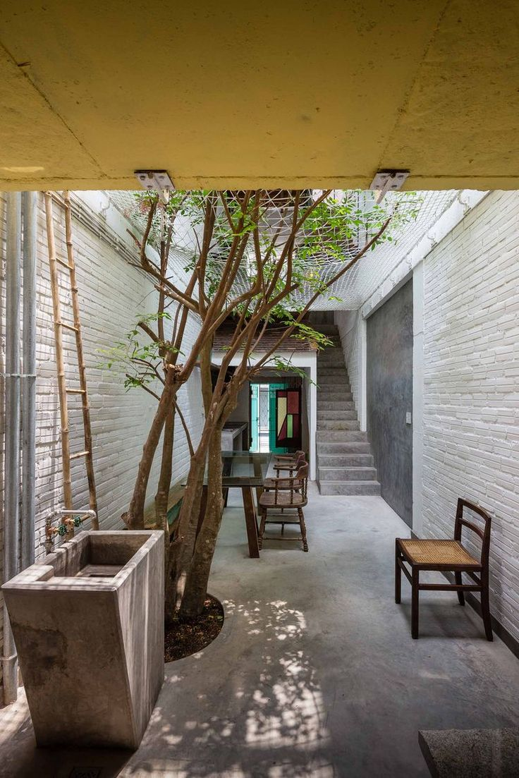 Outdoor apartment — Toan Nghiem (a21 Studio)