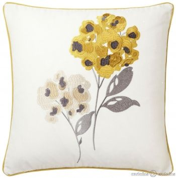 Mellow Yellow Bloom Meadow Cushion #cncfavouritethings