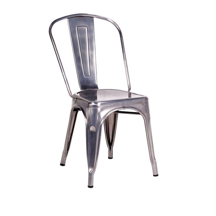Sedia Tolix Industrial Replica. Realizzata in acciaio con rifiniture in resina epossidica. Impilabile.#sediaacciao #fashioncommerce #arredo #designhttps://www.fashion-commerce.it/prodotti/sedia-mod-tolix-acciaio-grigio-zincato/