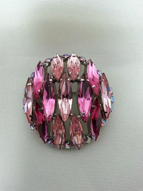 Pink Sherman Brooch