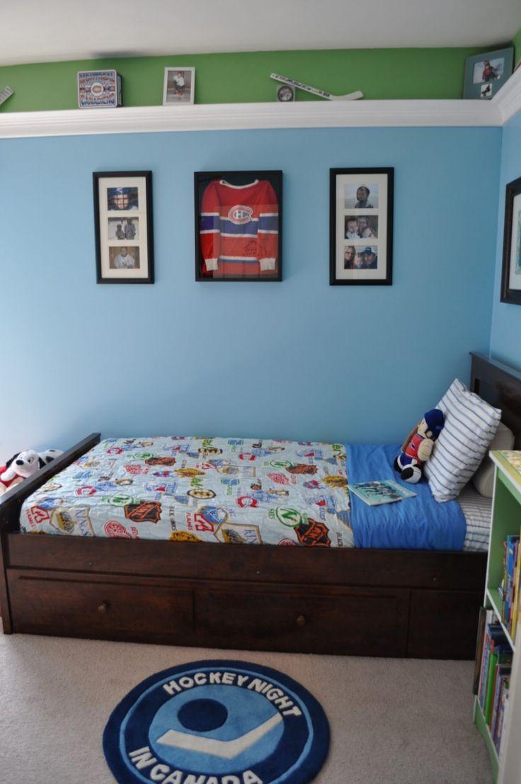 Hockey Bedroom Decor Canada: Best 25+ Hockey Bedroom Ideas On Pinterest