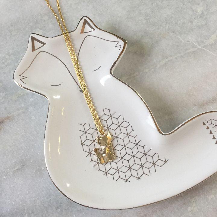 Fuchs-Kette goldfarben