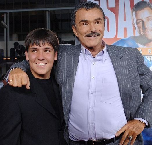 27-year-old Quinton Anderson Reynolds is the son of actors Burt Reynolds and Loni Anderson. We wonder what he thinks of his father's rare public appearance!