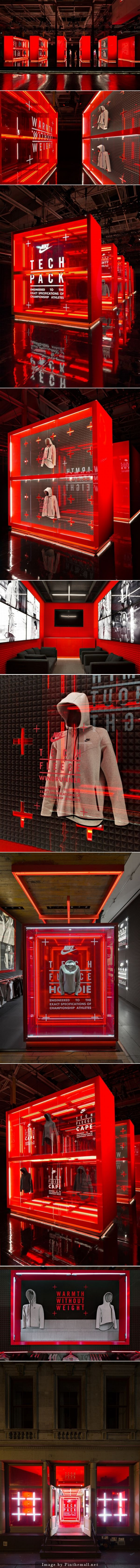 RETAIL DESIGN Nike flagship store by Nike WeShouldDoItAll New York City Nike flagship store by…