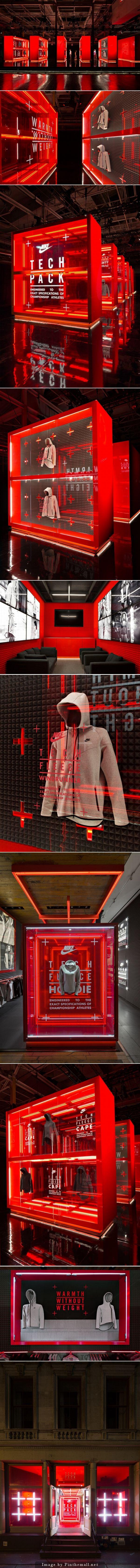 RETAIL DESIGN Nike flagship store by Nike WeShouldDoItAll New York City Nike flagship store by…