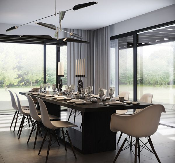 Monochromatic dining room decor Monochromatic Decorating Ideas And Their Stylish Appeal