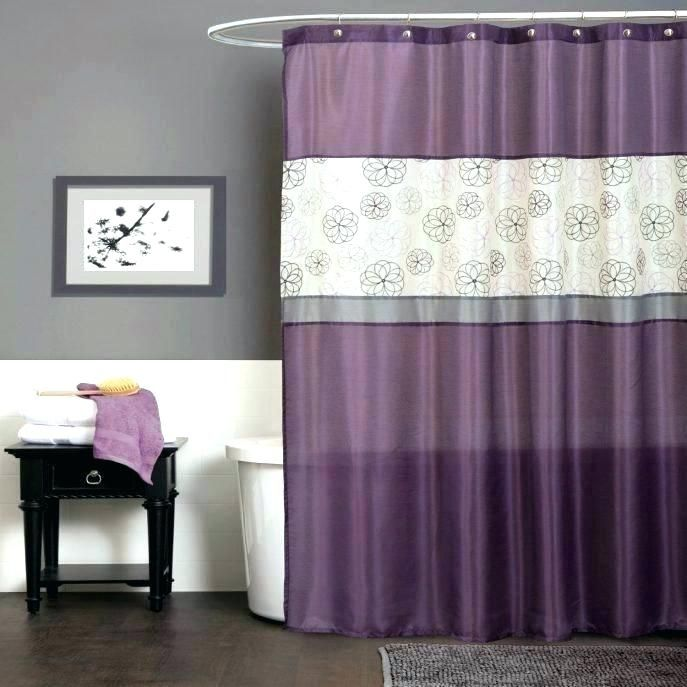 Image Result For Eggplant Gold Shower Curtain With Images Gray Bathroom Decor Purple Shower Curtain Purple Bathrooms