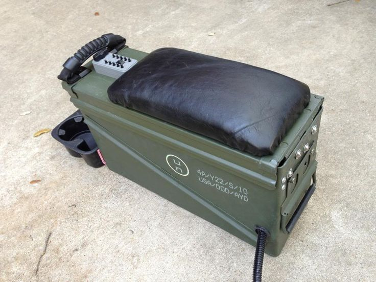 ammo can center console