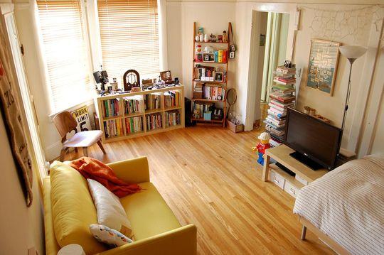 Bryan's Sunny Studio - Small Cool Contest @ Apartment Therapy