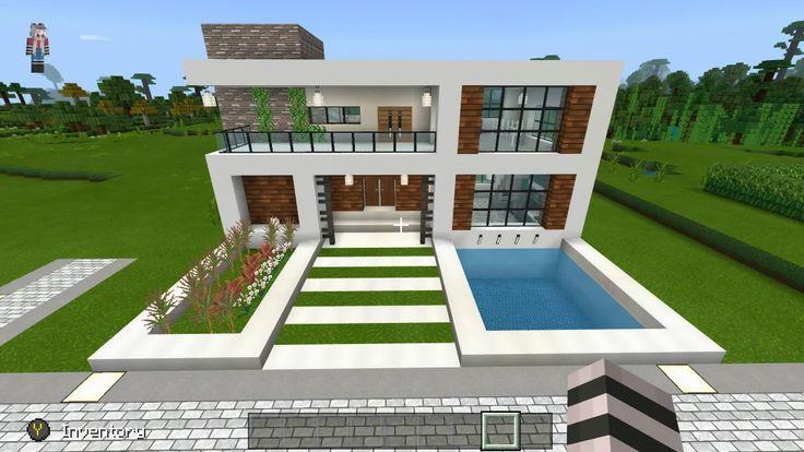 Pin On Minecraft Modern Buildings