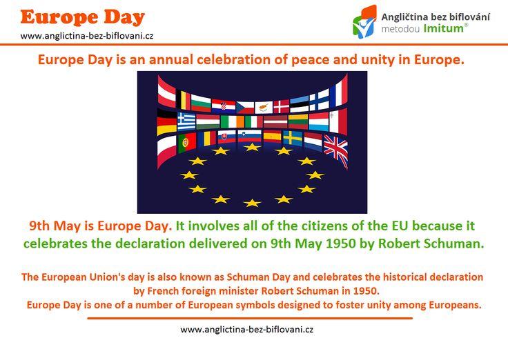 Den Evropy, nebo-li Schumanův den, pojmenovaný podle francouzského ministra zahraničních věcí Roberta Schumana, který ukázal ideu mírové spolupráce v Evropě. ✌ Zároveň se tento den stal i symbolem Evropské unie.  #europe #europeanunion #europeday #May9th
