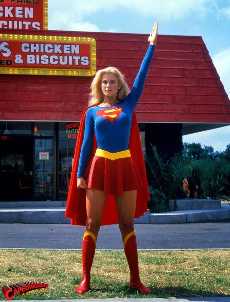 vintage everyday: Helen Slater as Supergirl, 1984