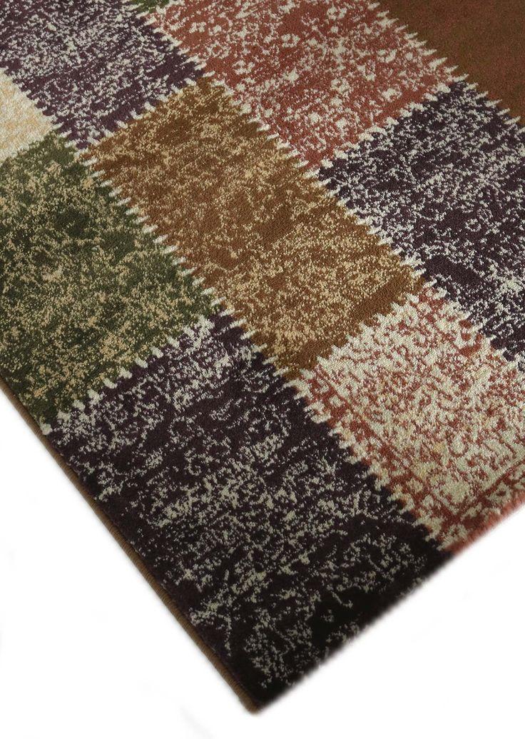 Designerteppich vintage in kurzflor - weiche strapazierfähige Moderne Teppiche mit Ornamenten - orientalischer Teppich als Design Teppich von sehrazat teppich - Maya 3820 violett - bei mynes Home kaufen
