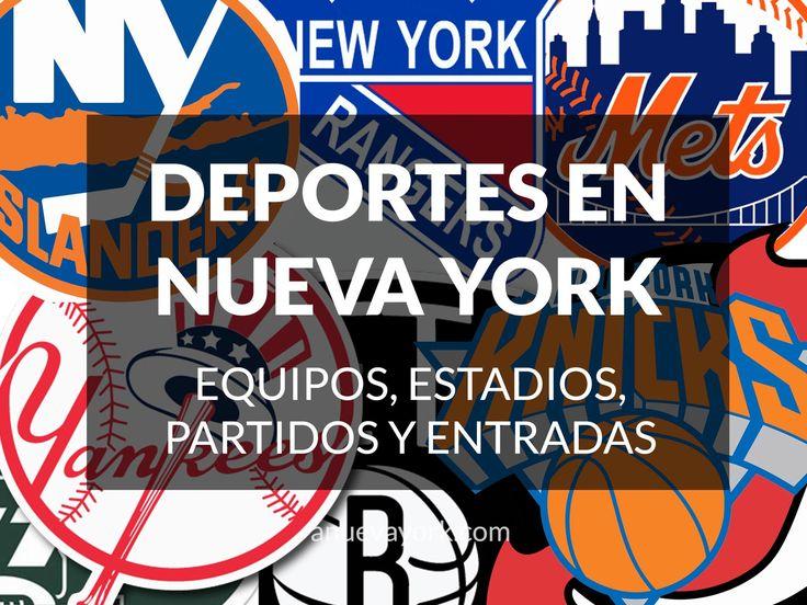 Qué deportes se juegan en Nueva York: equipos, estadios, partidos y entradas