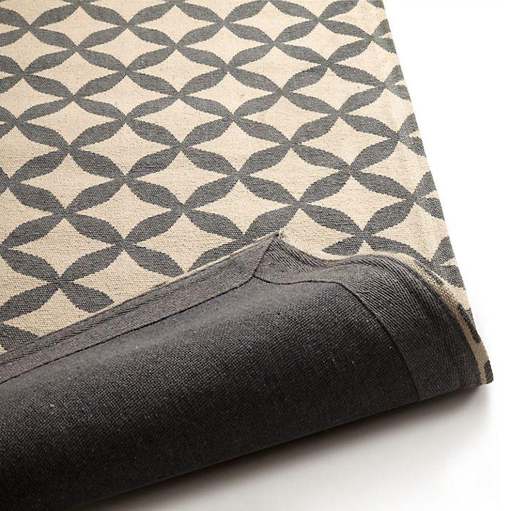 buy john lewis lattice rug l150 x w90cm grey online at. Black Bedroom Furniture Sets. Home Design Ideas