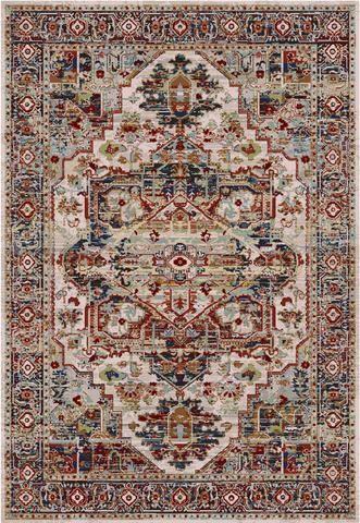 Karastan spice market alcantara cream area rug