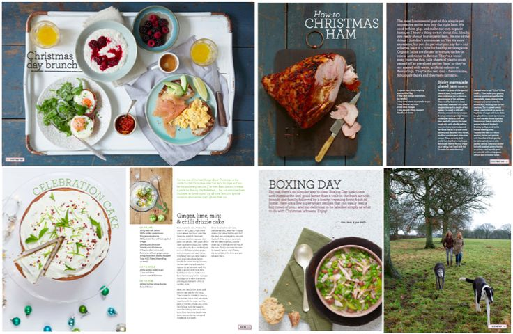 A sneak peek of the Liz Earle Wellbeing magazine, Christmas 2014 edition - full of ideas for a happy, healthy festive period!