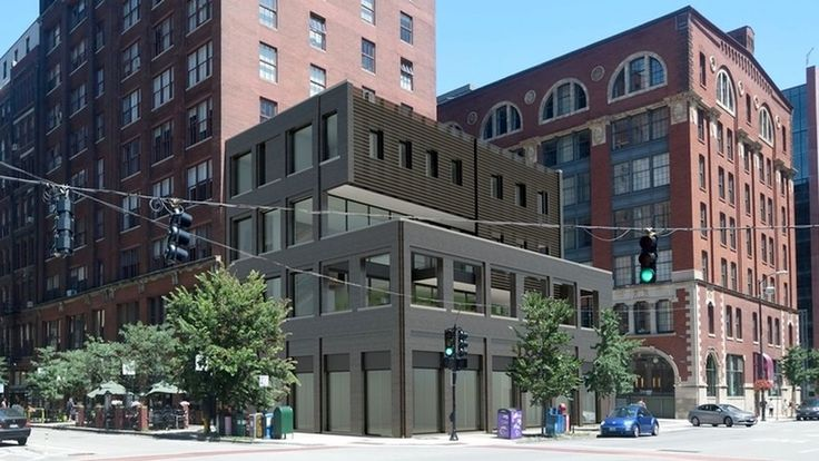The residential/retail development replaces a vacant lot in the heart of the South Loop's Printer's Row neighborhood.