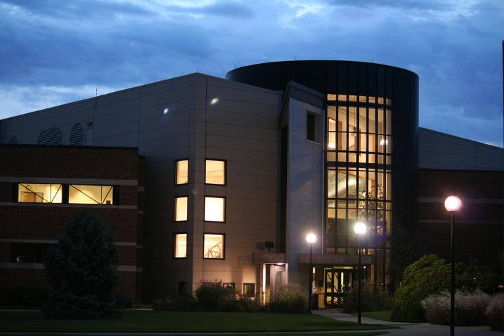 Night scene of Building E