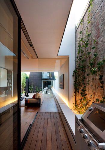 Mary Street residence, St Kilda, Australia. Extension and renovation by Matt Gibson Architecture + Design. Photo: Shannon McGrath