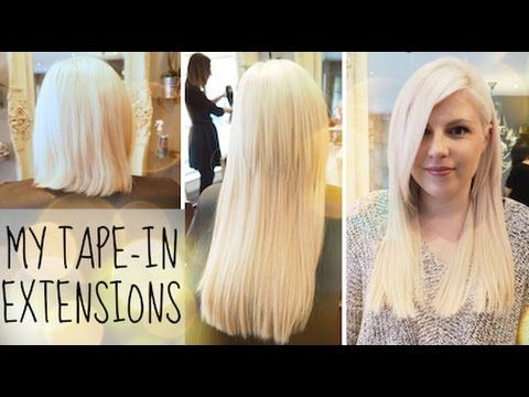 Best 25 tape in extensions ideas on pinterest tape hair tape in hair extensions my experience youtube hair extensions tutorialtape pmusecretfo Gallery
