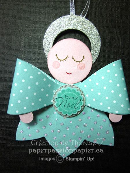 Gift bow Angel: Crafts Ideas, Gift Bows, Bows Angel What, Gifts Bows, Paper Punch, Bows Die, Die Angel, Paper Crafts, Bows Bigz