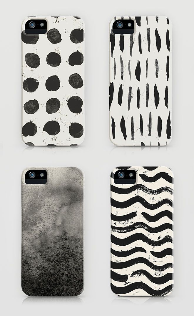 Painterly iphone covers