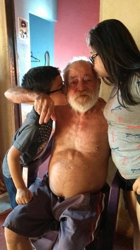 Alex Jr, Pai da Georgea e Alana - Ipiaçu - 22/Set/2017