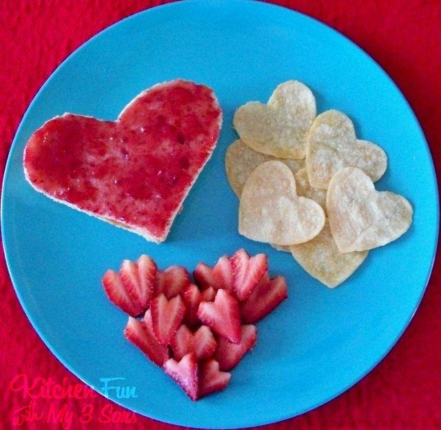 Kitchen Fun With My 3 Sons Valentine Love Lunch Kitchen