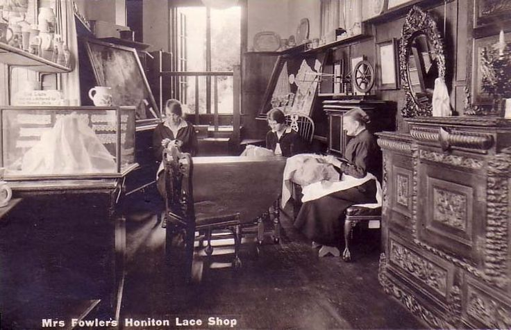 Mrs Fowler's Honiton Lace Shop