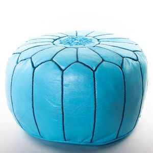 Moroccan Pouf Turquoise now featured on Fab.