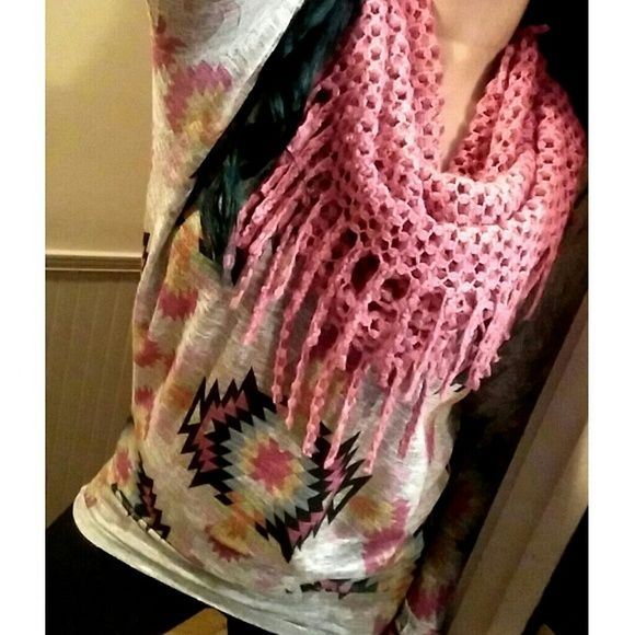 Shop Hope's  Tops - NWT Shop Hope's Boutique Tribal Piko Top