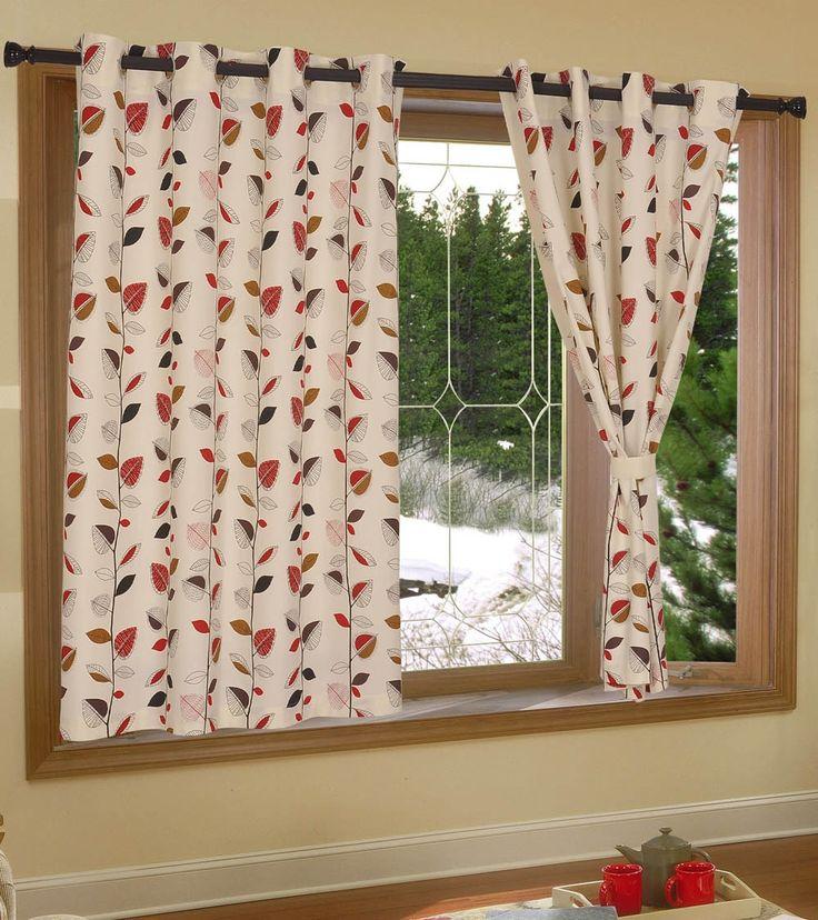 Multicoloured Cotton Printed Window Curtain #indianroots #homedecor #curtain #windowcurtain #cotton #printed