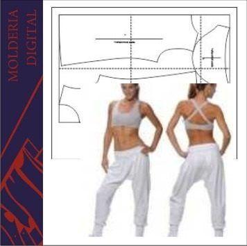 c6598525e molde patrones babucha mujer imprimible envio inmediato | babuchas ...