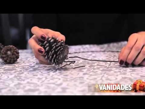 DIY pinecone garland / Cómo hacer una corona de Navidad con piñas - Casa Haus YouTube