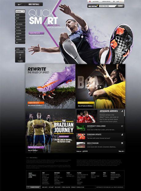 #Webdesign #Nike