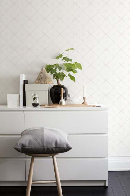 Modernisti herkän kaunis tapettimallisto Eco Dimensions. www.k-rauta.fi    Wallpaper Eco Dimensions.