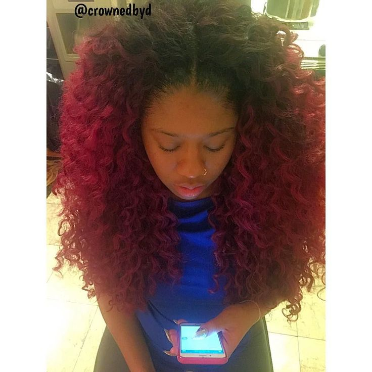 ... crochet braids no leave out red crochet braids crochet life long