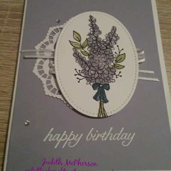 Lots of Lavender  free stamp set from Sale-a-bration Catalogue available from 3 January 2018