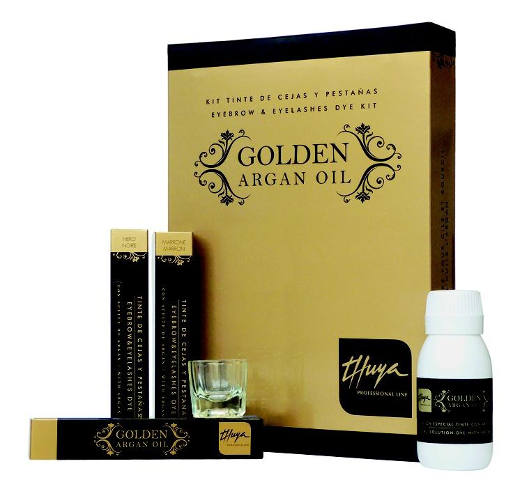 Kit Golden Argan Oil: ora la tinta per ciglia e sopracciglia, si arricchisce di tutti i principi attivi dell'olio di Argan ...e inoltre, il colore sarà ancora più luminoso!