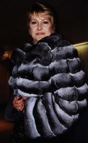 CHINCHILLA piel de chinchilla utilizada como abrigo y en guarniciones