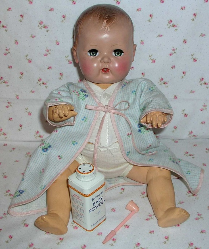 "16"" Pre-Patent 1951 Tiny Tears Doll with EARLY Rare Dress Set ~ I'll have to look through my things because I may have the dress set."