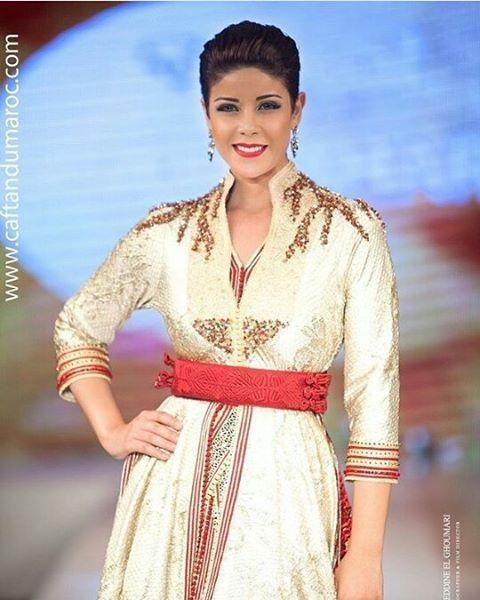 @leilahadioui اللباس من تصميم @naoualboutahar                                                                                                                                                     More