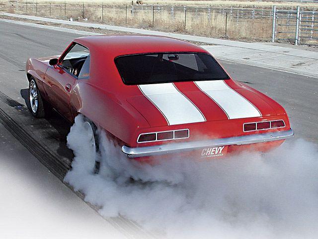 1969 Camaro Burnout