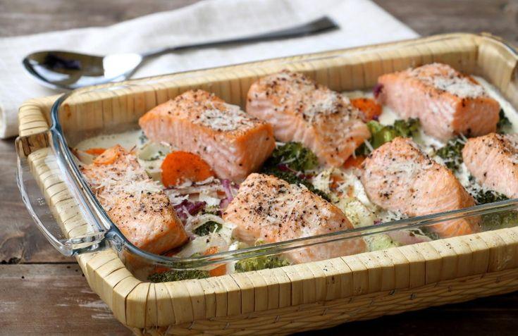 Hei! Kvardagen er i gang og middagane skal på bordet etter en lang dag på jobb. Da er det heilt topp med såkalte kvardagsmiddager som både er raske, enkle, næringsrike og mettande. Laks i form med grønnsaker og fløte er en slik middag, den er så simpel, men samtidig veldig god. Muligheten for varisjon i …