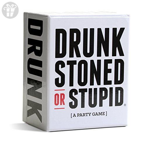 DRUNK STONED OR STUPID [A Party Game] (*Amazon Partner-Link)