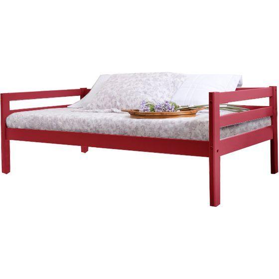 Sofa Cama Vermelho Bresolin
